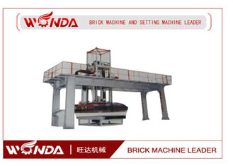 Stable Operation Brick Automatic Stacking Machine With Walking Car / Lifting Guide Pillar