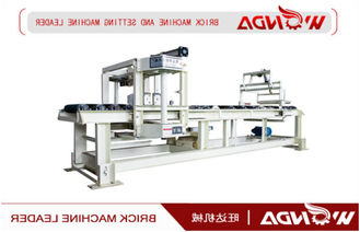 Wet Green Strip Clay Brick Cutting Machine 220v 1.5KW For Block Making Plant