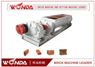 Hollow / Solid Fly Ash Double Brick Machine Automatic For Hoffman?/?Tunnel Kiln