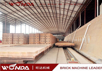 Drying Tunnel Kiln Brick Firing Process Customized Brick Size 12 Months Warranty