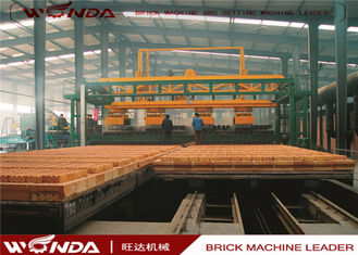 Gas Fired Clay Tunnel Brick Kiln?Automatically Run For Brick Making Machinery Plant