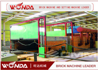 Natural Gas Fuel Brick Tunnel Kiln , Safe Control Tunnel Kiln For Clay Brick