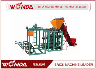 QTJ400 Hydraulic Cement Hollow Block Making Machine?Semi Automatic Easy Operation