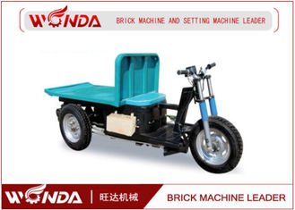 Electric Fired Brick Delivery Car / Wet Brick Cart / Battery Brick Kiln Cart for Clay Brick Plant
