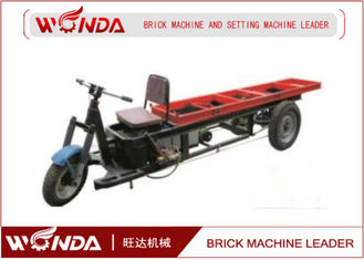 New Red / Blue Hydraulic Brick Delivery Cart With 1000 Loading Capacity YPC5M