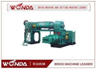 China Clay Automatic Brick Making Machine , Brick Manufacturing Equipment?All Steel Fuselage supplier