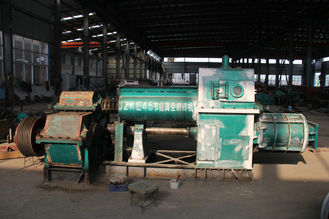 Fully Automatic Clay Brick Production Line Double Horizontal Side Vibration