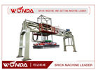 China Steel Alloy Brick Setting Machine , Fly Ash Bricks Machine Pneumatic Pressure company