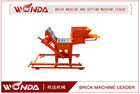 China 9.6KW Soil Clay Brick Making Machine Manual Force 220V One Year Warranty company