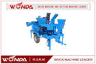 China Interlocking Semi Automatic Brick Making Machine M7MI TWIN 3840 Pcs/8hr Capacity company